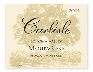"Sonoma Valley ""Bedrock Vineyard"" Mourvèdre"