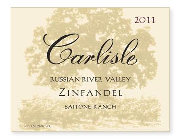 "Russian River Valley ""Saitone Ranch"" Zinfandel"