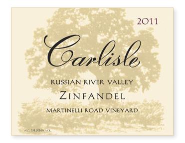 "Russian River Valley ""Martinelli Road Vineyard"" Zinfandel"
