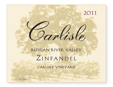 "Russian River Valley ""Carlisle Vineyard"" Zinfandel"