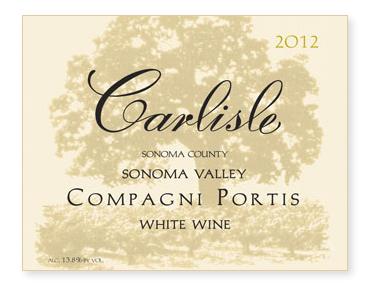 """Sonoma Valley """"Compagni Portis"""" White Wine"""