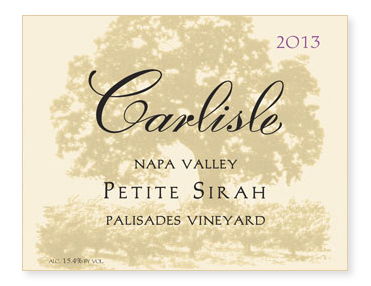 "Napa Valley ""Palisades Vineyard"" Petite Sirah"