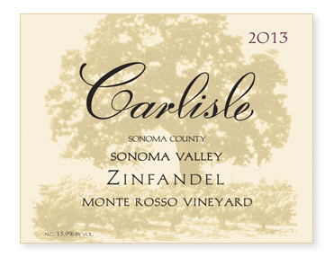 "Sonoma Valley ""Monte Rosso Vineyard"" Zinfandel"