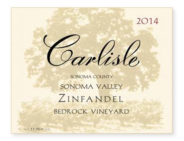"Sonoma Valley ""Bedrock Vineyard"" Zinfandel"