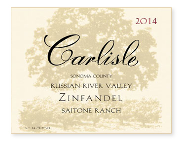 "Russian River Valley ""Saitone Ranch"" Zinfandel"