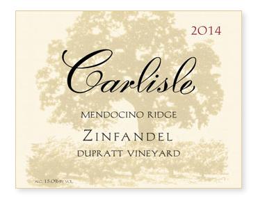 """Mendocino Ridge """"DuPratt Vineyard"""" Zinfandel"""