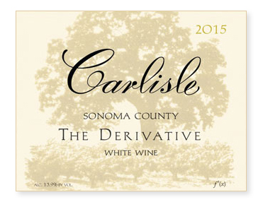 "Sonoma County ""The Derivative"" White Wine"