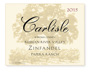 "Russian River Valley ""Papera Ranch"" Zinfandel"