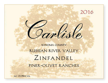 "Russian River Valley ""Piner-Olivet Ranches"" Zinfandel"