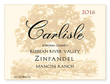 "Russian River Valley ""Mancini Ranch"" Zinfandel"