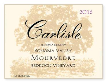 "Sonoma Valley ""Bedrock Vineyard"" Mourvèdre"