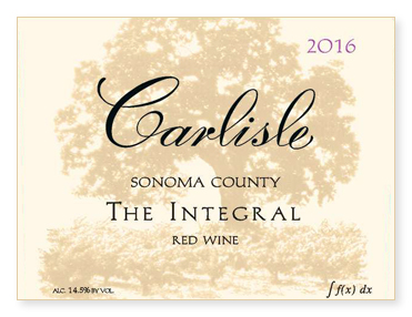 "Sonoma County ""The Integral"" Red Wine"