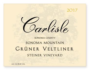 "Sonoma Mountain ""Steiner Vineyard"" Grüner Veltliner"