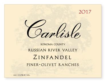 "Russian River Valley ""Piner-Olivet Ranches"" Zinfandel"
