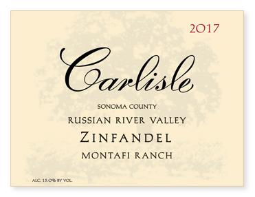 Russian River Valley Montafi Ranch Zinfandel