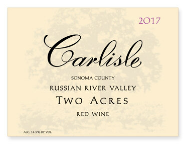 "Russian River Valley ""Two Acres"" Red Wine"