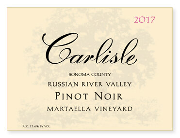 "Russian River Valley ""Martaella Vineyard"" Pinot Noir"