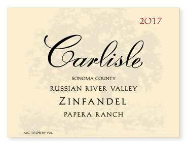 "Russian River Valley ""Papera Ranch"" Zinfandel"