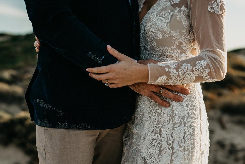 Grover Beach dunes wedding photography