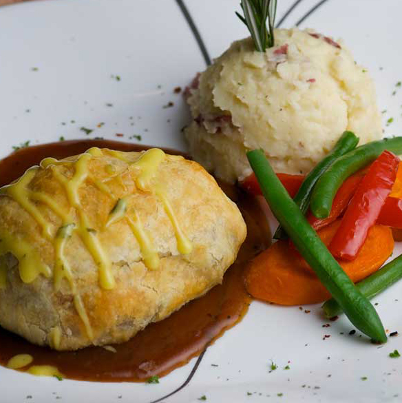 The Raintree Beef Wellington