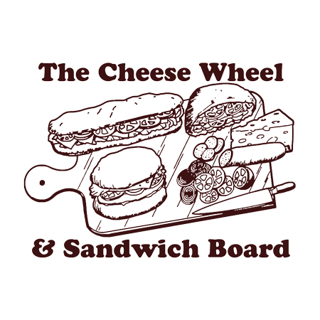 The Cheese Wheel + Sandwich Board