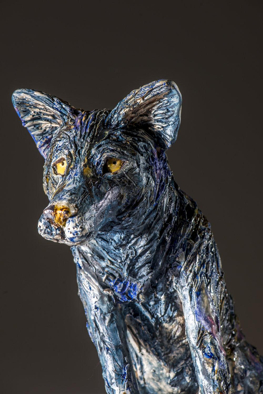 Wolf in Cobalt
