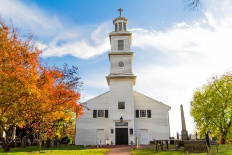 St John's Episcopal Church Richmond Virginia Church Hill in the Fall