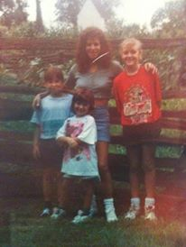 My family and I in Williamsburg, Virginia in the 90′s. I am on the far right