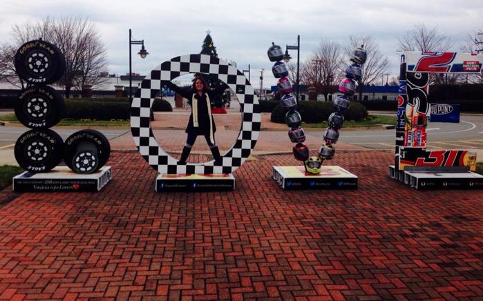 The Richmond International Raceway LOVE Works in Virginia.