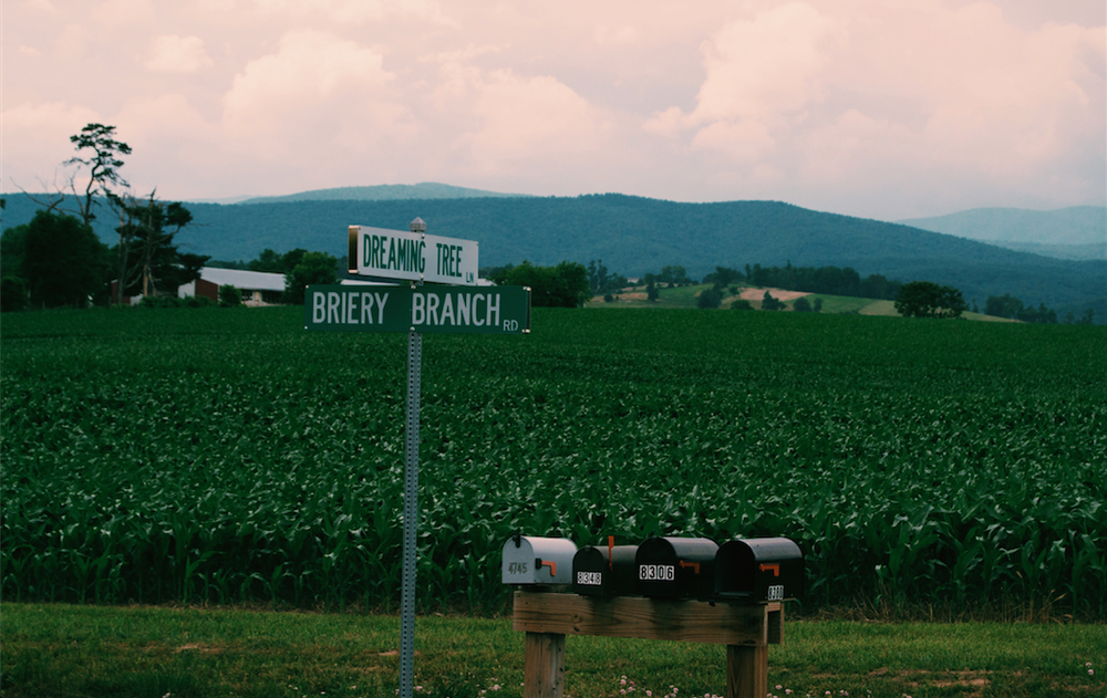 As we were passing this road I said to myself: