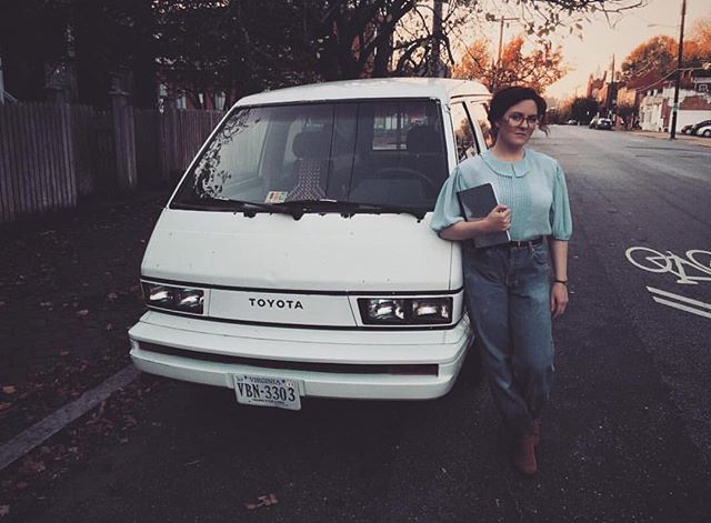 #TBT to Halloween, when Barb from @strangerthingstv, decided she wanted to ditch her Cabrio, for a ride in our Toyota Van.