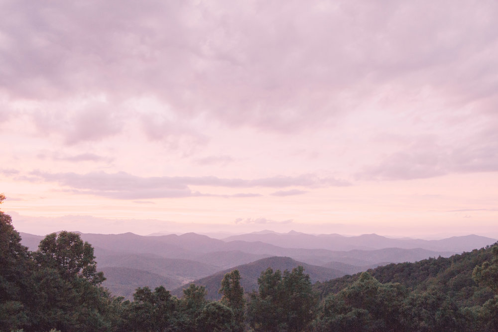 North Carolina Mountains Sunset Travel Photography Our Wander Life