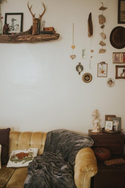 Castle Wellbuilt Mustard Yellow Velvet Vintage Couch .JPG