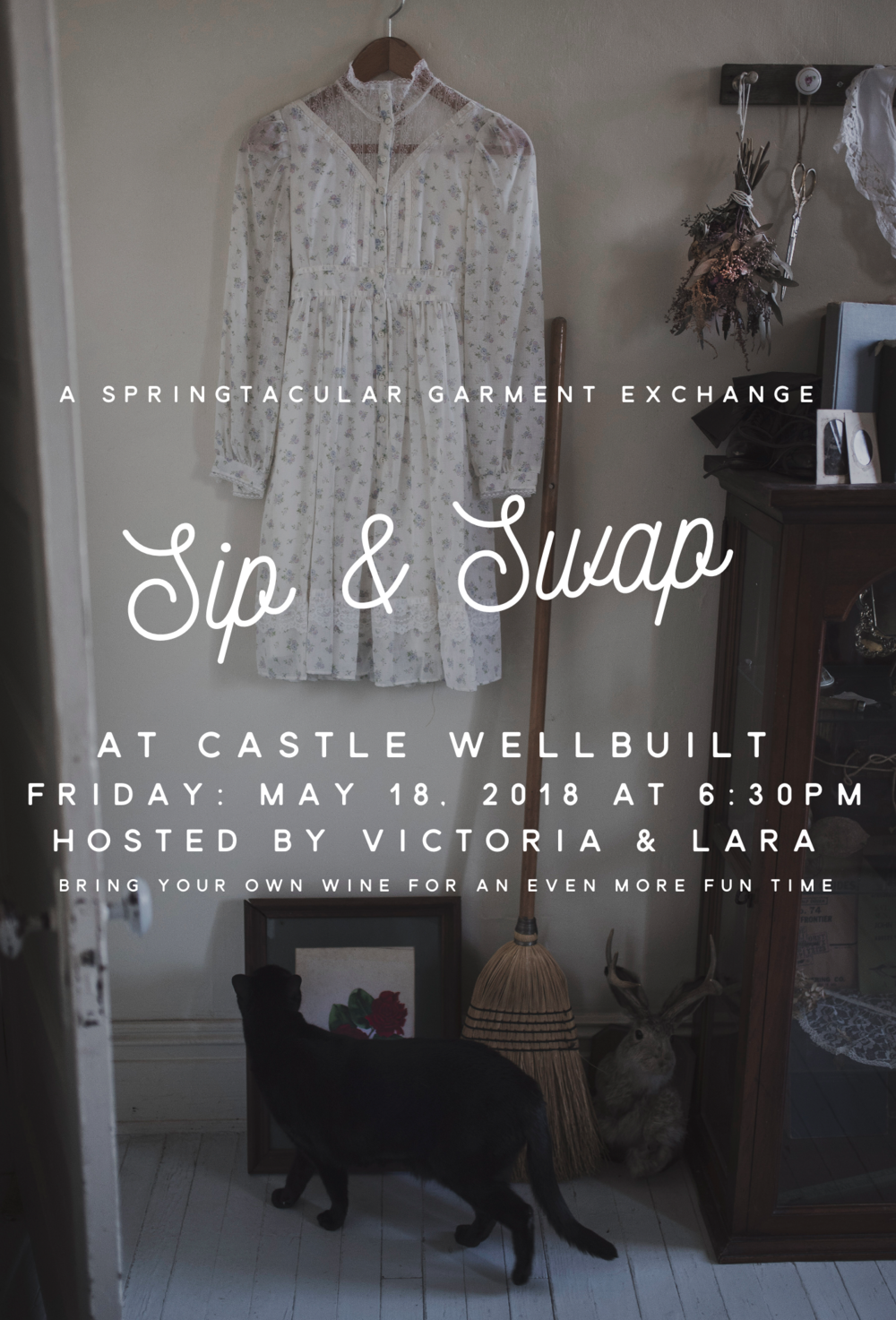 sip and swap clothing swap