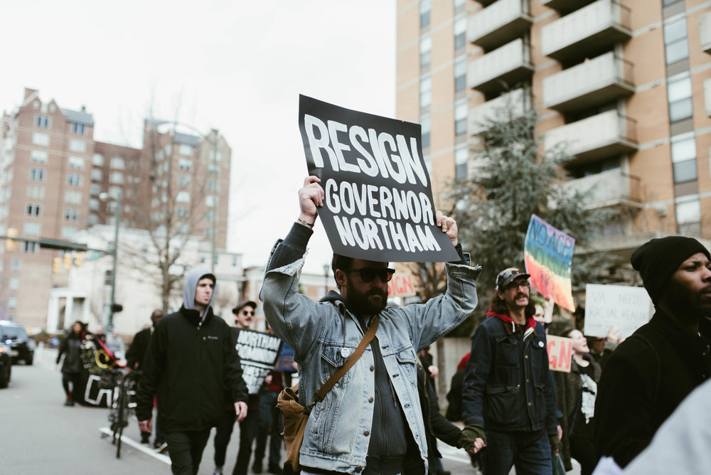 Victoria N. McGovern | March of Reckoning Northam Resign Richmond Va State Capitol Protest 63.jpg