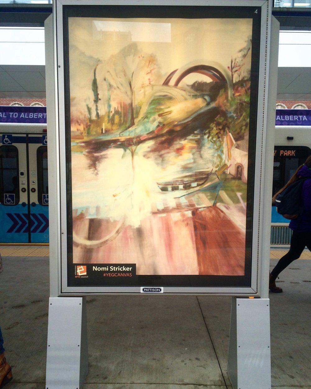 #YEGCanvas transit poster