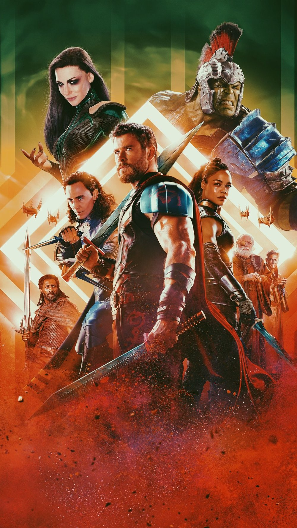 Thor: Ragnarok (2017) - Taika Waititi - When it comes to forgettable Marvel movies Thor tops the list. There have been two Thor movies and I've seen them both. I watched them, shrugged and moved on. If you asked me to tell you what happened in those two movies, I would say I'm pretty sure Natalie Portman was in them. Then if you told me there would be a new Thor movie and Natalie Portman won't be in it, my interest level would probably drop to cat caring about humans level. Uninterested. That is, until I heard the name attached. Taika Waititi.My list of favorite things from New Zealand isn't very long, but at the top of that list is the accent and Taika Waititi (If Thor was your first venture into Waititerritory, then go educate yourself). I have yet to have so much faith in a Marvel movie and the fact that it was a Thor movie speaks volumes. So when I finally got around to seeing it, I'm glad I got to say the thing I love to say to myself,