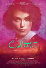Colette (2018)  - Though her eyes may be dark, her complexion pale, and her smile recognizable, Keira Knightly can still disappear into a role. I haven't come across her in ages, it feels like, but to be reacquainted is always a joy. She glows as the titular role in Colette, a film I was worried about seeing for fear I wouldn't be engaged or it would become too much for me to take in. Afraid of heaviness and melodramatics, I was relieved to be taken for an adventure. I cared, and cheered, and contemplated her and the world built around her by Wash Westmoreland. A period piece always has the probability of feeling pretentious and over dramatized but Westmoreland kept Colette grounded much like the character herself. Like someone out of life now that you'll meet on the streets while protesting the latest controversy befalling our nation. She felt real and not like a character pulled from lore or distilled into a legend. I suppose this is a compliment for Knightly as well who fits in this world but brings modern life to it. A biopic hardly fails to be interesting but can fall far from captivating and there were moments of true captivation watching her and Dominic West work together. With life, sensitivity and realism Knight and Westmoreland made this film actually memorable. Which is a testament to all their talents. Perhaps the timeliness of the film is what cemented it's likability for me, or perhaps it's just a good film, or both? (shrug emoji) I do know that I will recommend it, and may even see it again. It was good to see her and this world again but have it like a fresh Wash. What's Reel: Knightly, the look, the world, the relevance, and the heart. What's Rotten: It's not a period piece that makes you feel one way or another. Which really isn't a bad thing. Reel Rotten Rating: Fresh, in more ways than just tomatoes.