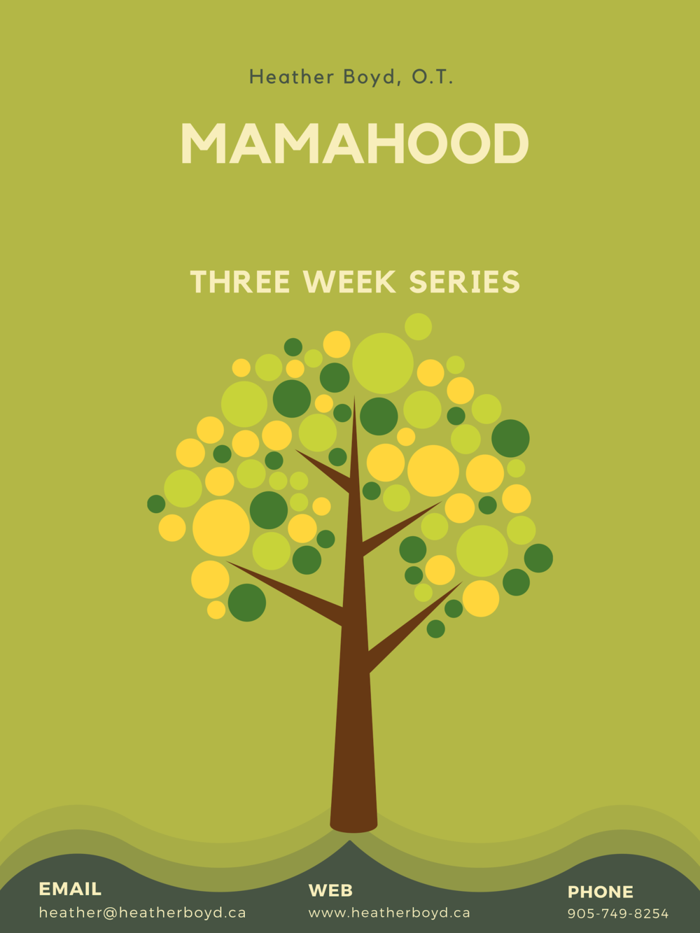 Mamahood 3-week package - Attachment based solutions to parents' most common challenges
