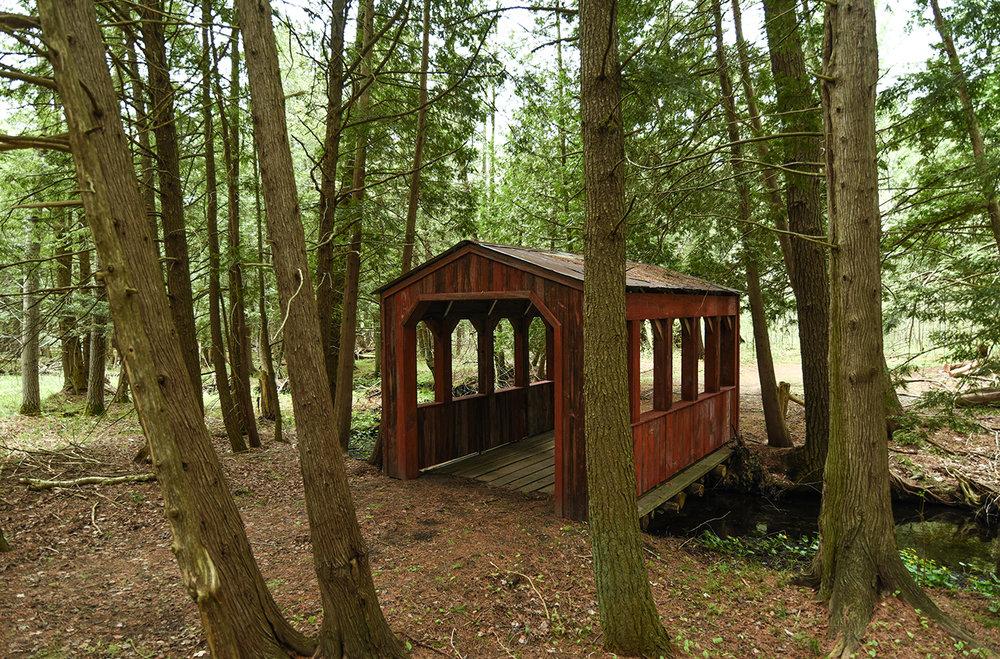 Northern Michigan Covered Bridge