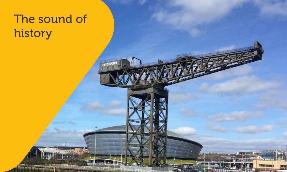 Glasgow History Podcast branding