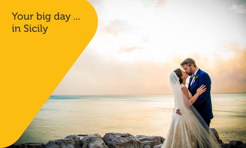 Sicilian Wedding Day website design