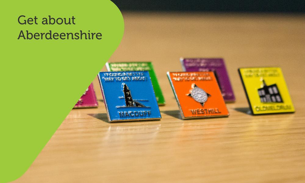 Aberdeenshire Council badge design