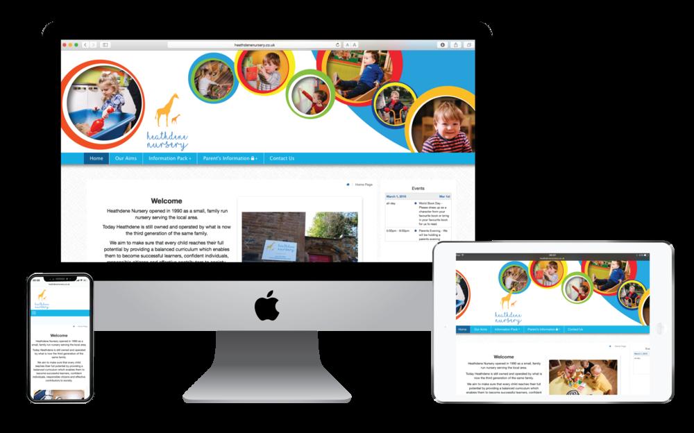 Refreshed website
