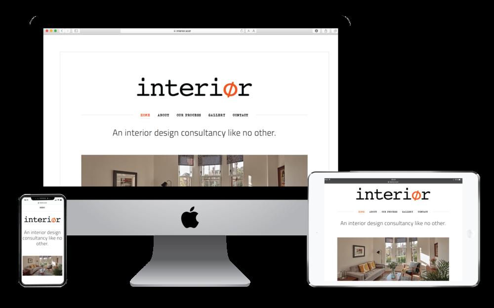The new Interior website