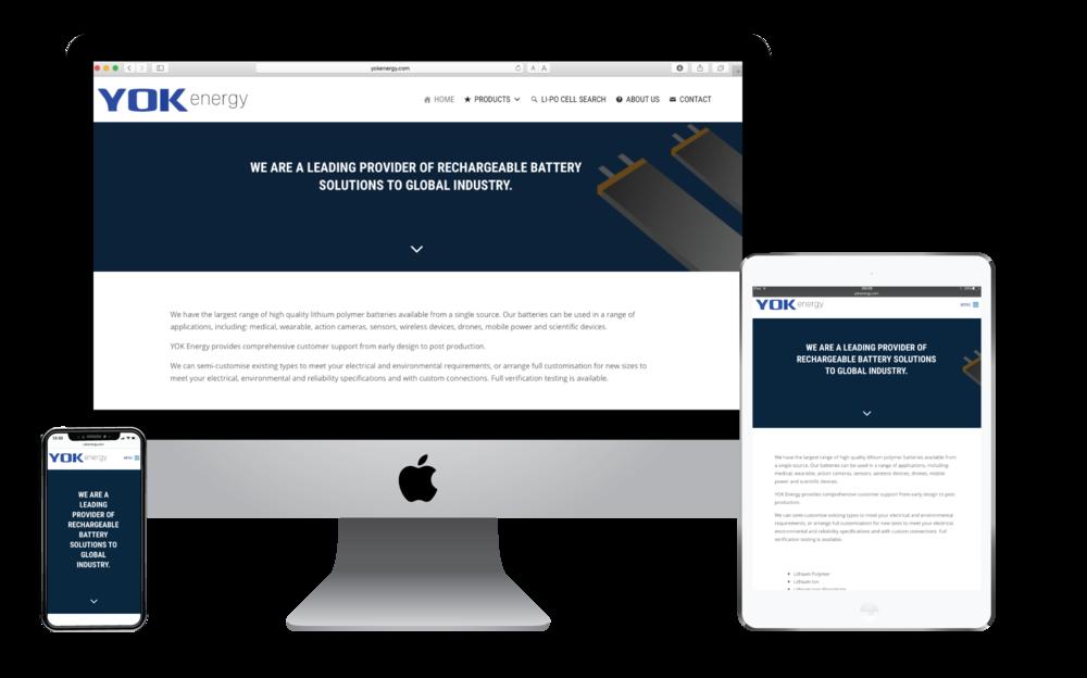 Yok Energy website