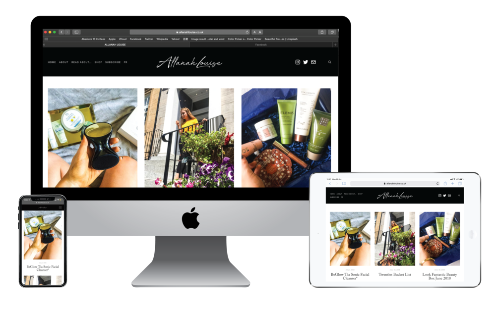 New AllanahLouise website