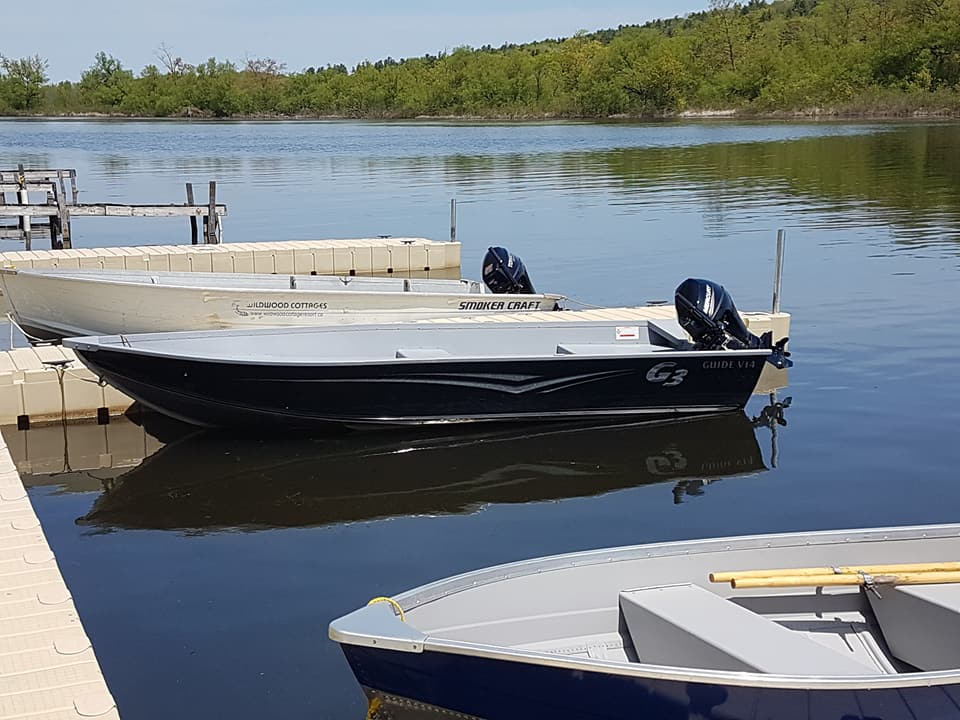 14ft Aluminum Boat with a 9.9hp motor