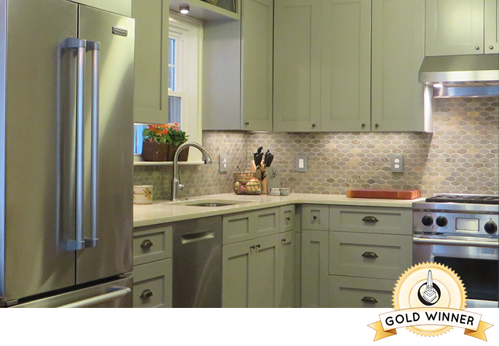 2015 Obie awards Gold Winner  Best Kitchen under $50,000