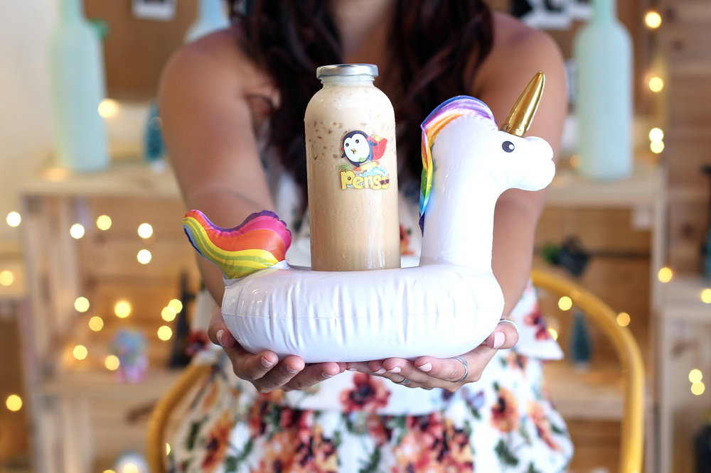 Pengo Drinks - In celebration of summer '17 as well as the opening of the OC Night Market, iRose Social has cordially invited over 35 social media influencers to try out this top secret drink. This unicorn drink features a split cup sitting in an actual unicorn floatie! Our guests could either choose from two types of milk teas or lemonades. After the event ended, our favorite foodies were encouraged to feature their favorite unicorn drink photos for the very first time on Instagram, introducing to the world of social media this innovative drink idea that will not be released to the public until June's OC Night Market. Be sure to search the Instagram hashtag #OCunicorn to see a gallery of photos from this event!